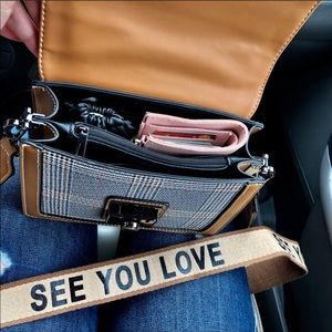 Anmly Bags - New See You Love Crossbody Vegan Leather Purse bag